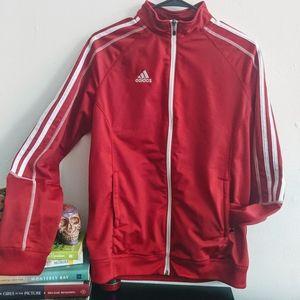 Retro Red Adidas Track Jacket